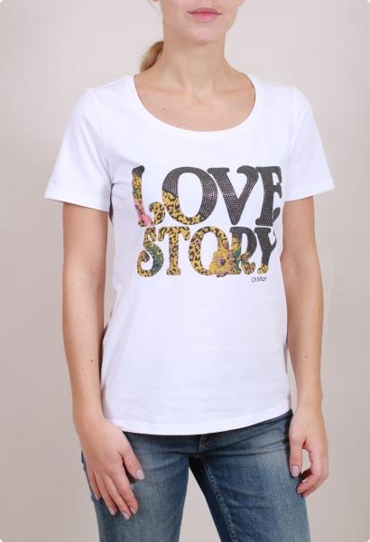 OLMAR блузка LOVE